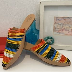 Tory Burch Colorful Mules 🌈